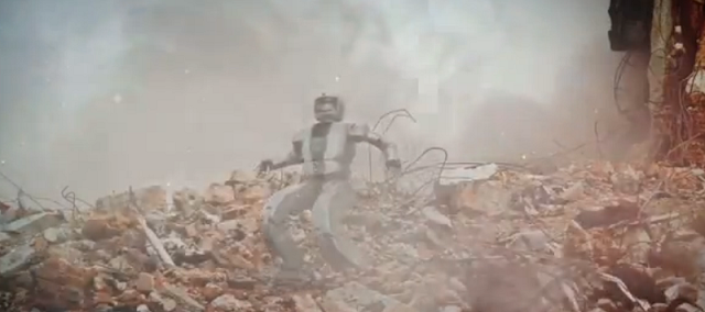 DARPA Grand Challenge Humanoid Robot
