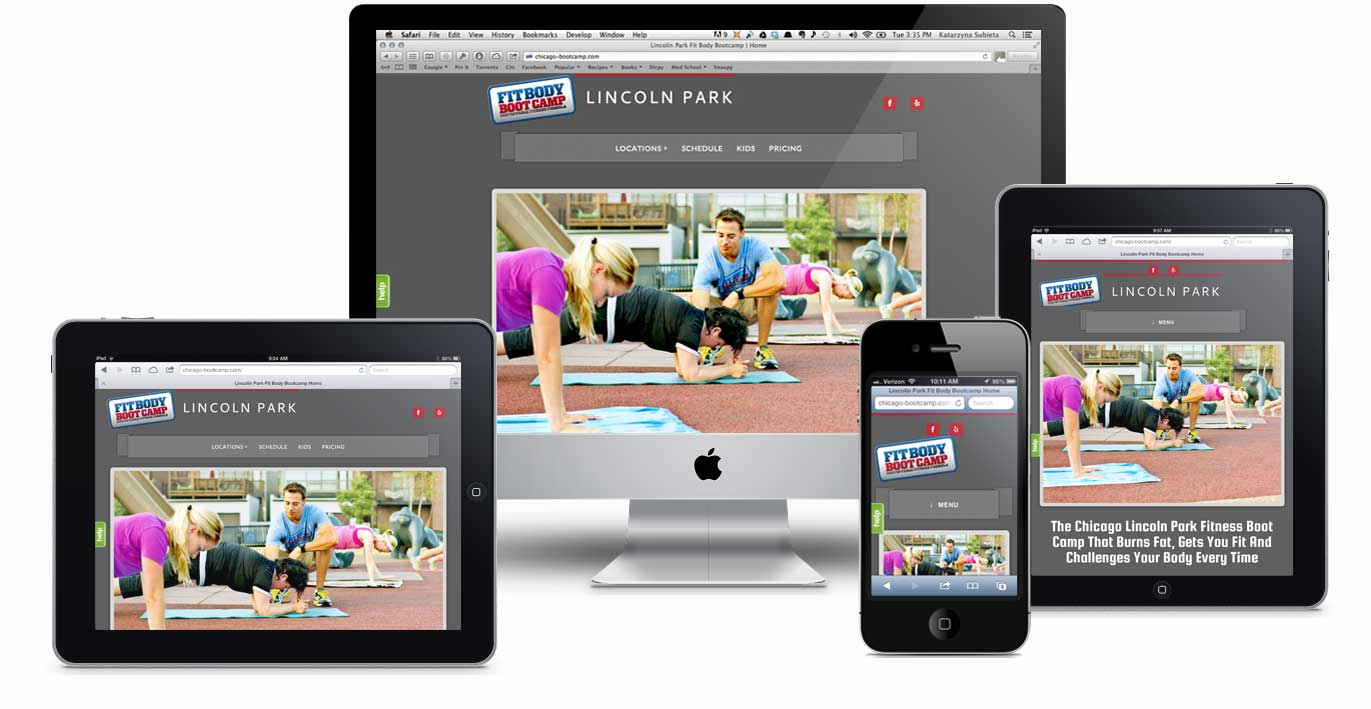 Website Design Optimizing For Mobile