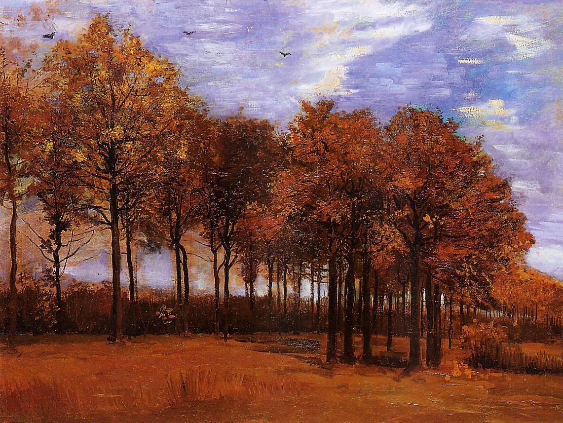 art artists vincent van gogh trees part 1