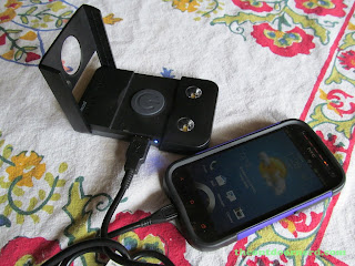 Waka Waka Power: Solar Lantern And Mobile Charger, Charging An HTC One Smartphone