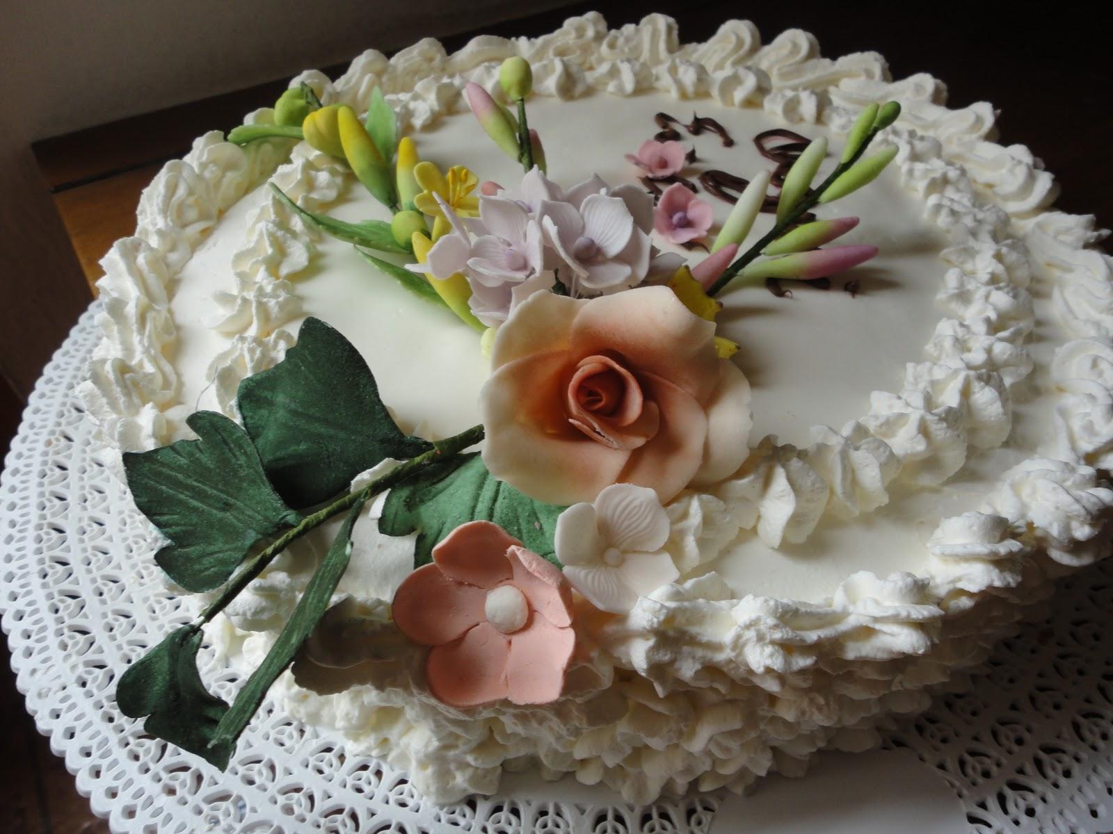 Torte E Decorazioni Come Decorare Una Torta Con La Panna