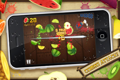 fruit ninja free for samsung galaxy y download android