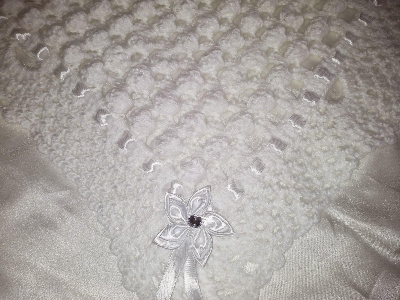 couverture pour lit de bébé Melissa Melina Crochet: Superbe couverture pour bébé au crochet couverture pour lit de bébé