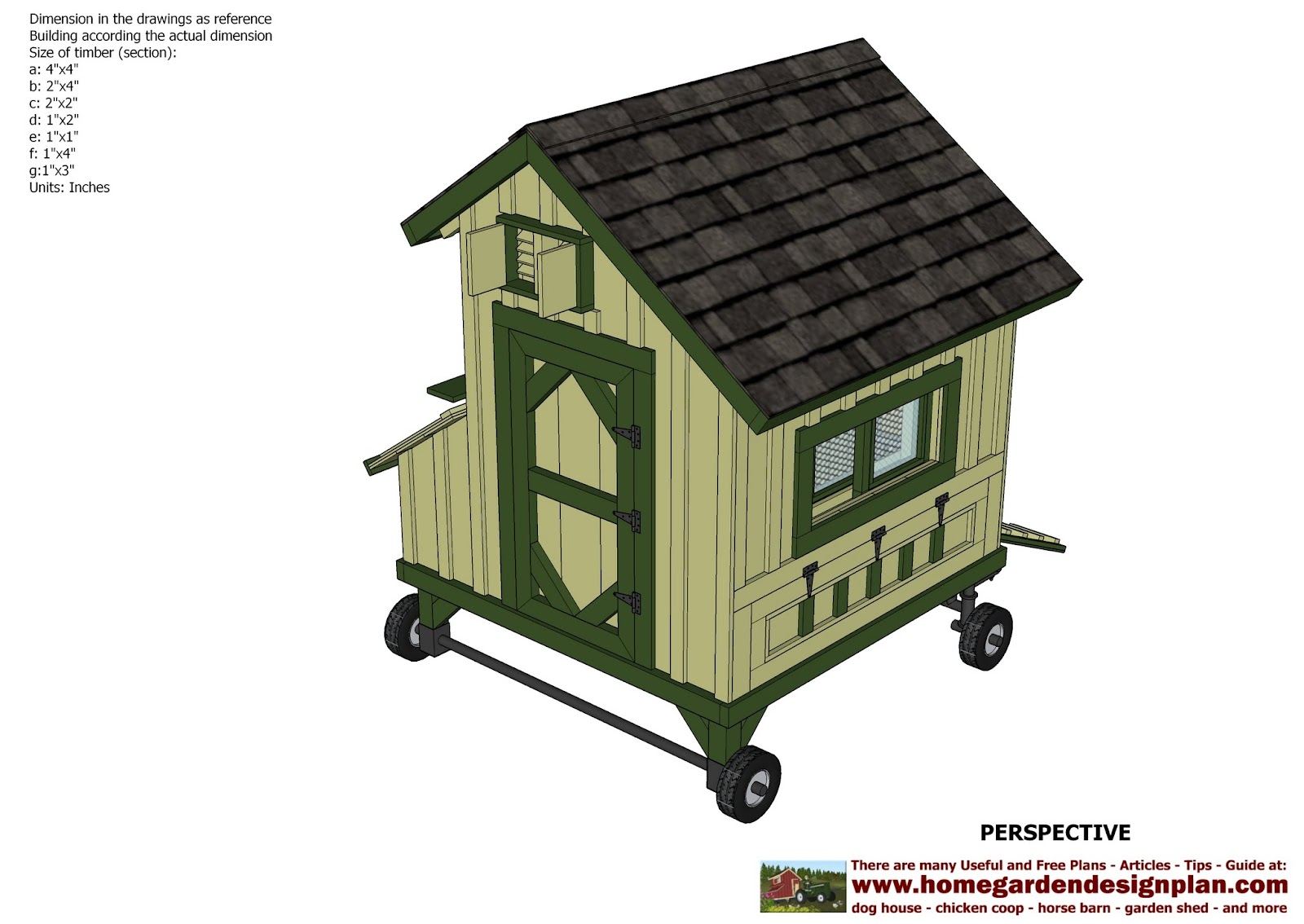 free chicken tractor plans pdf