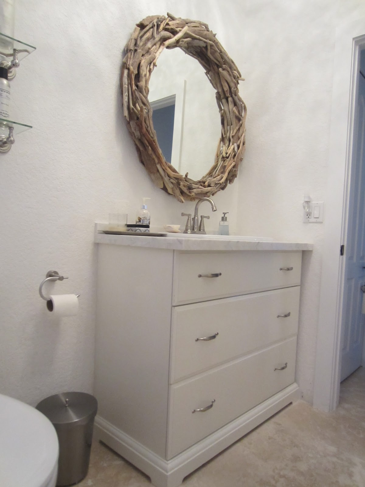 Finished Budget Guest Bathroom (Finally!!!)