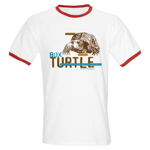 Box turtle T-shirt and more turtle items