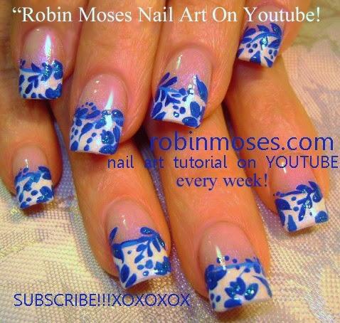 """robin moses nail art """"nail art"""" """"elegant nail art"""" """"teal"""