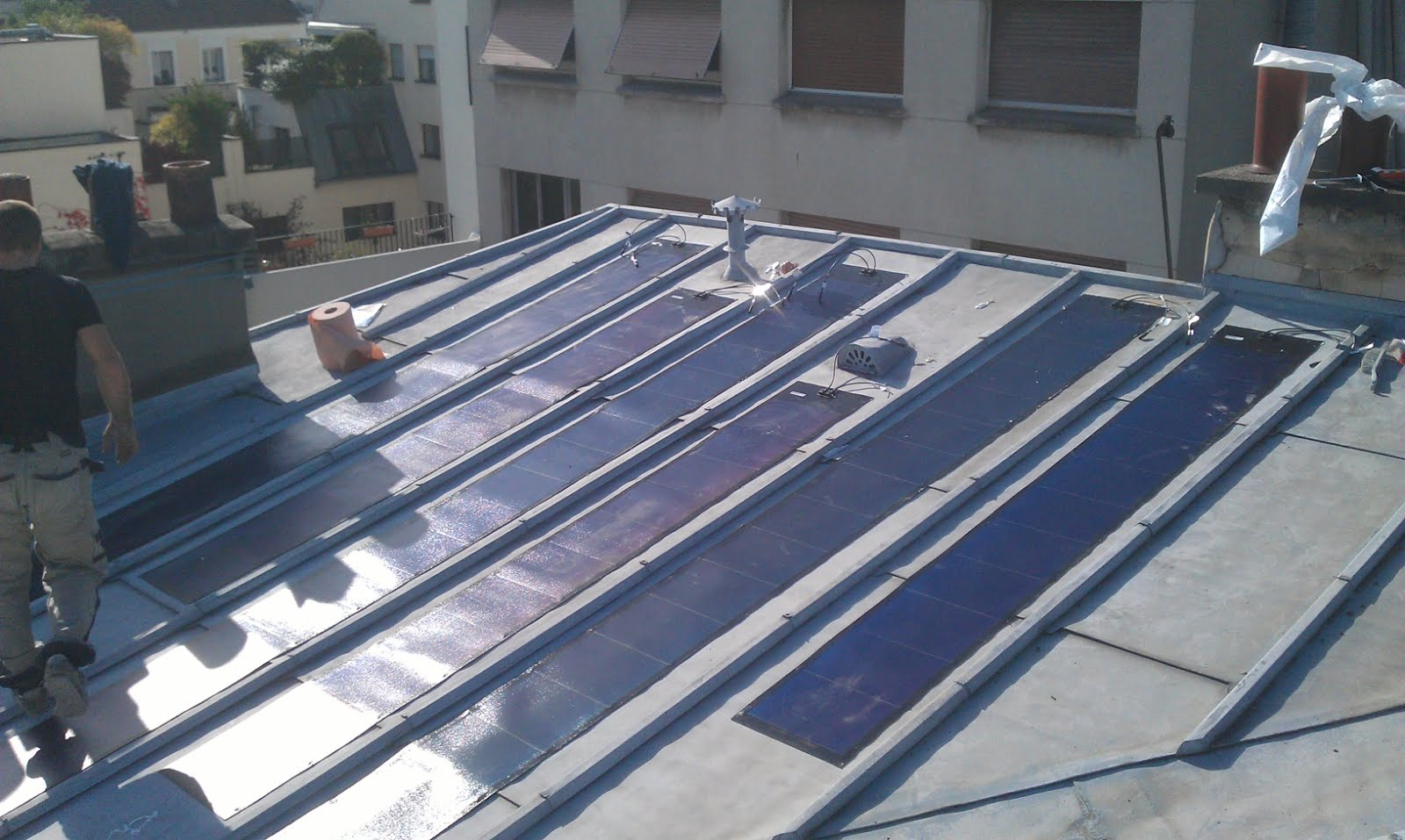 My E Life Now Solar Panels Installation 13 Uni Pvl 124w Bullet Train Educational Diy Kit 68w 31w