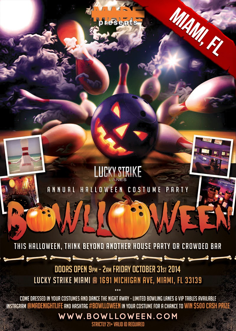 """Bowlloween 2014 Miami Halloween"""