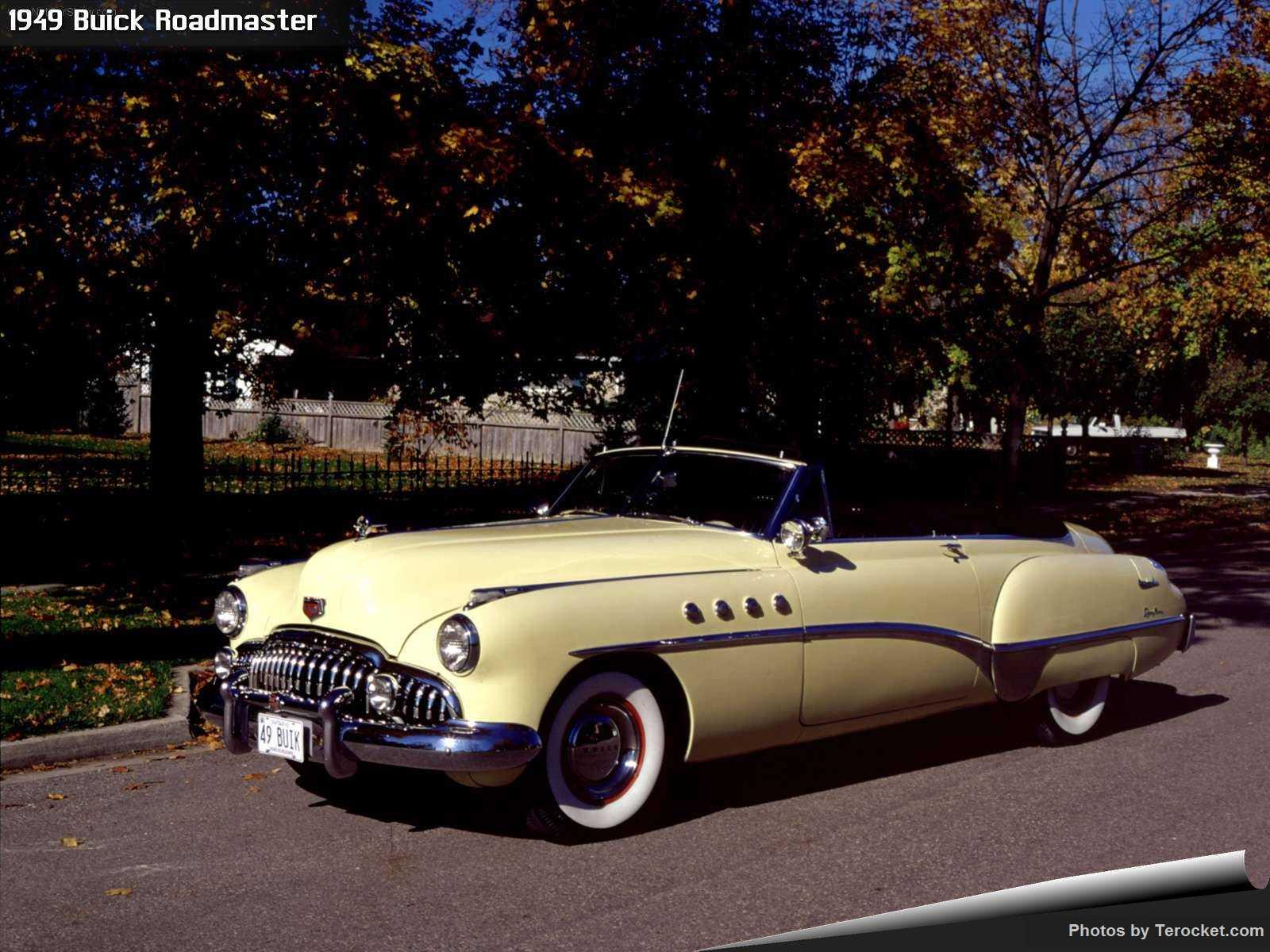 Hình ảnh xe ô tô Buick Roadmaster 1949 & nội ngoại thất