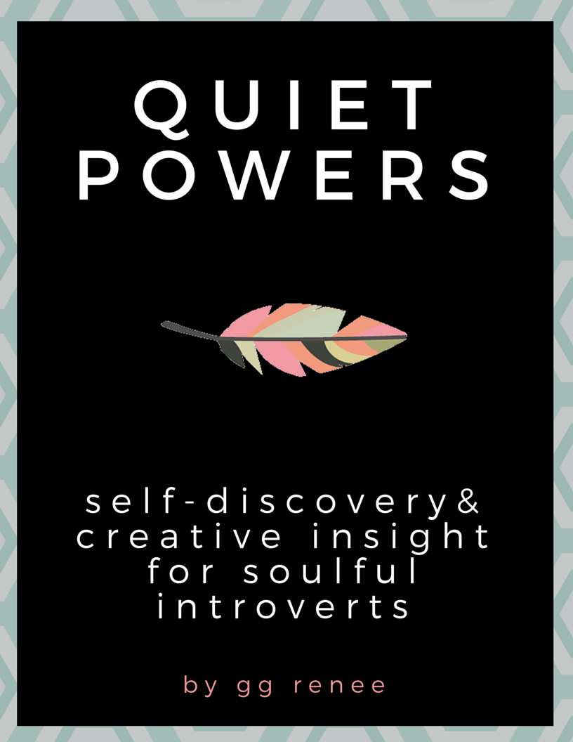 NEW!  QUIET POWERS E-BOOK