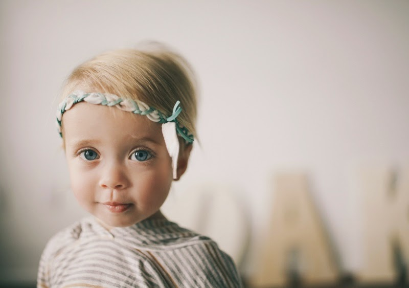 Boho braided headband by Kindred OAK for spring 2014 kids fashion collection