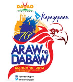 araw ng davao 2013 logo
