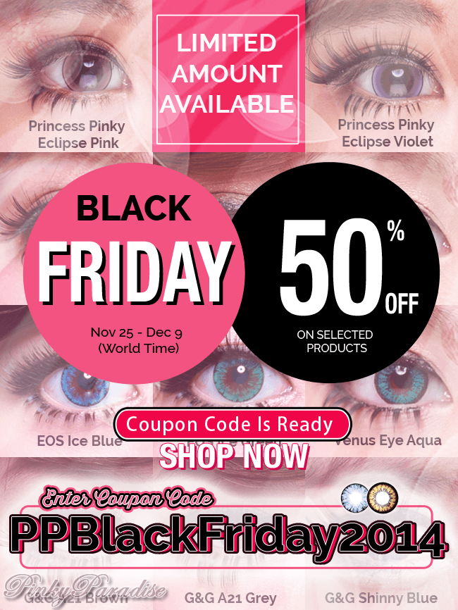 50 best Pinky Paradise coupons and promo codes. Save big on circle lenses and beauty products. Today's top deal: 50% off. Goodshop works with Pinky Paradise to offer users the best coupon discounts AND makes a donation to your favorite cause when you shop at participating stores. Goodshop;.