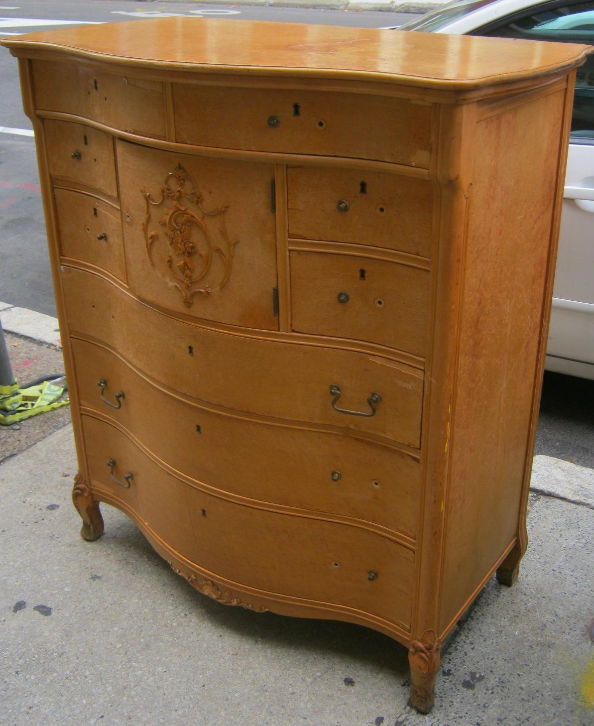 Uhuru Furniture Amp Collectibles Birdseye Maple Serpentine
