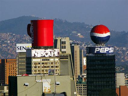 Nescafe dan Pepsi