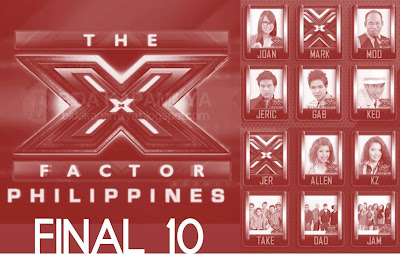 The X Factor Philippines Final 10 Theme: Rock (August 18)