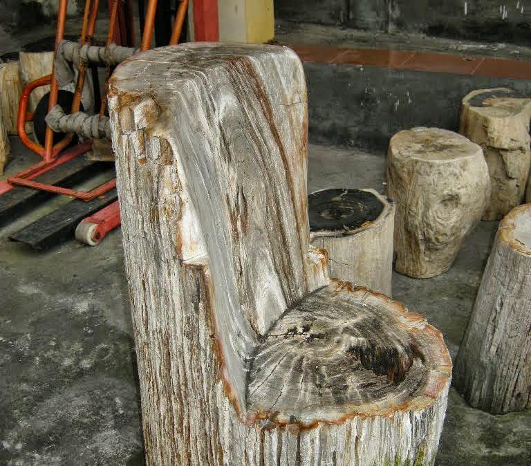 Outdoor patio furniture for sale indogemstone for Petrified wood furniture for sale