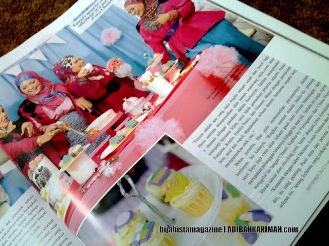 GLG in Hijabista Magazine featuring Hanis Haizi, salha zain, maisarah ibrahim dan echenta  from Premium Beautiful Top Agents