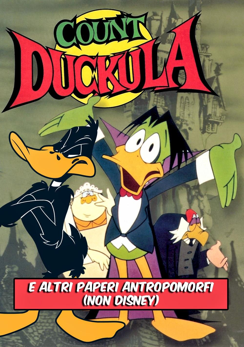 Conte Dacula Daffy Duck paperi antropomorfi non Disney