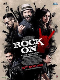 Rock On 2 2016 Movie DVDRip 720p [1.3GB]