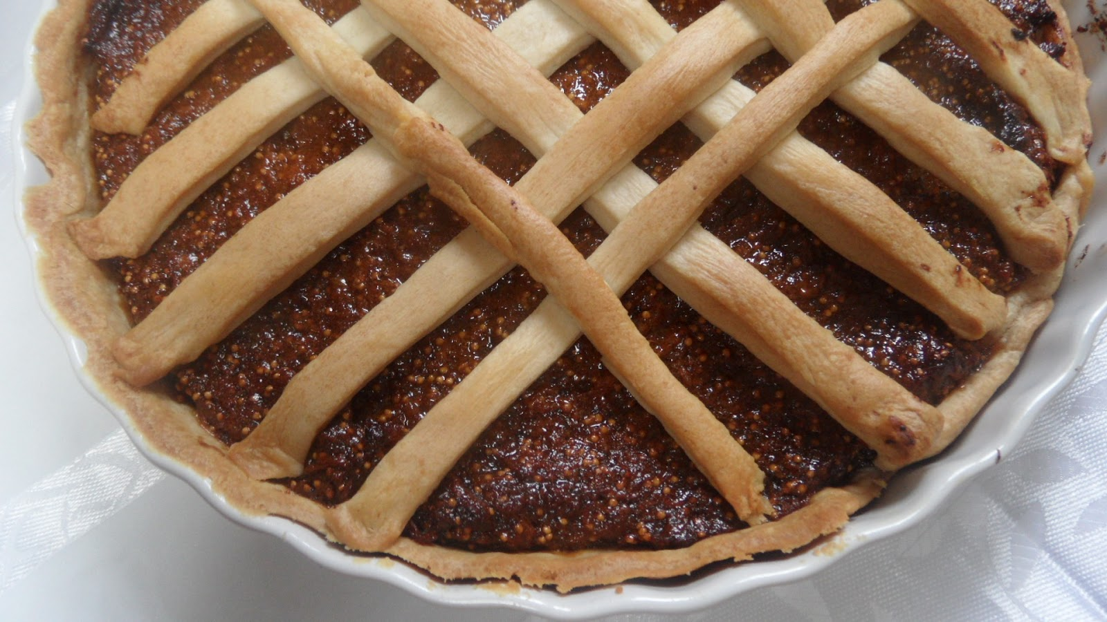 have been looking for good recipes of crostata, and found one that I ...