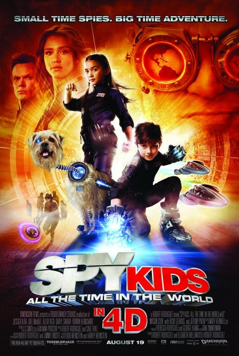 Spy Kids 4: All the Time in the World / Mini Espías 4
