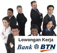 Lowongan Kerja 2013 Bank BTN 2013 Bulan Januari Posisi Teller Area JaBoDeTaBek & Surabaya