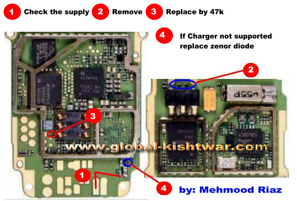 Nokia 6030 Charging Problem | Picture Help