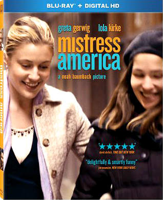 Filme Poster Mistress America BDRip XviD Dual Audio & RMVB Dublado