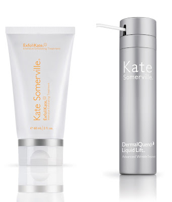 Kate Somerville, Kate Somerville giveaway, Kate Somerville The Perfect Pair Kit, Kate Somerville DermalQuench Liquid Lift Advanced Wrinkle Treatment, Kate Somerville ExfoliKate Intensive Exfoliating Treatment, Kate Somerville skincare, Kate Somerville skin care, face scrub, exfoliator, skin, skincare, skin care, moisturizer