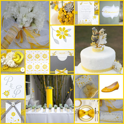 keentobeseen marigold yellow pewter grey wedding