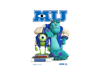 Monsters University 3D Animation Movie HD Wallpaper
