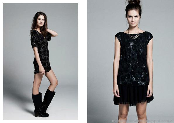 Ceilonia vestidos invierno 2013 moda