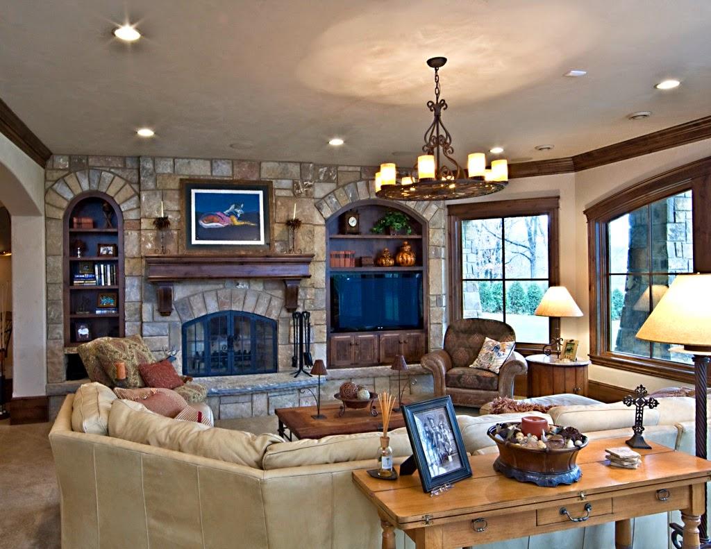 Ruang keluarga minimalis 7