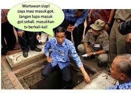 Surya Megakalla : Gorong - gorong Adalah Trademark Jokowi, Tanpa Itu Dia Hanya Tukang Mebel