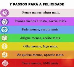 7 Passos para a felicidade