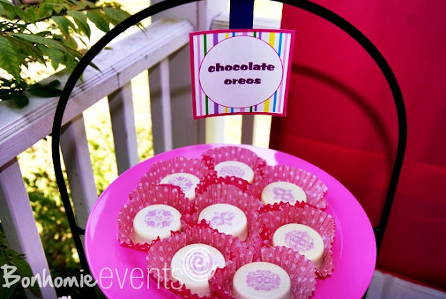 chocolate covered oreos by bonhomieEVENTS Connecticut