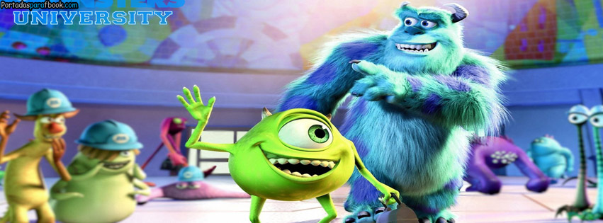 Portadas para facebook de monster inc