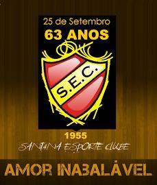 SANTANA ESPORTE CLUBE    62 ANOS DE FUNDAÇÃO