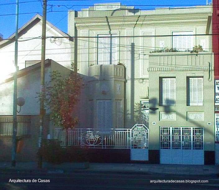 Casa residencial en Villa del Parque estilo Art Decó