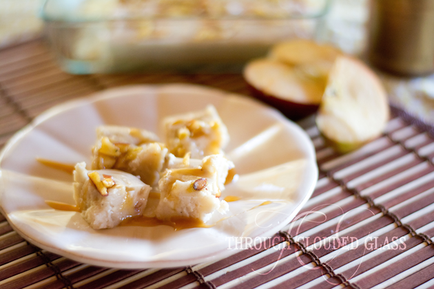 Try this decadent fudge recipe! Caramel Apple Pie Fudge | Through Clouded Glass