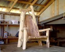 Elegant Rustic Log Furniture