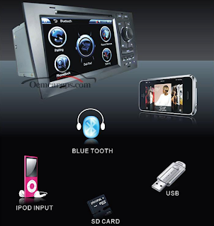 audi a6 dvd player with mp4 ipod bluetooth sd usb
