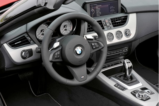 Instrument panel shot of 2011 BMW Z4