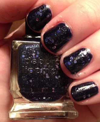 Deborah Lippmann, Deborah Lippmann Lady Sings The Blues, Deborah Lippmann All That Jazz Trio, nail polish, nail lacquer, nail varnish, glitter