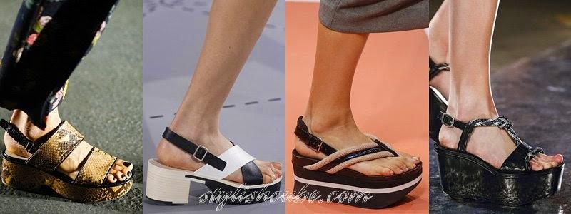 Summer 2014 Women's Sandals Fashion Trends
