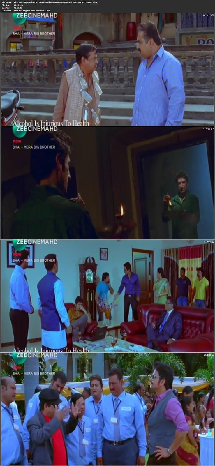 Bhai Mera Big Brother 2017 Hindi Dubbed DTHRip 720p