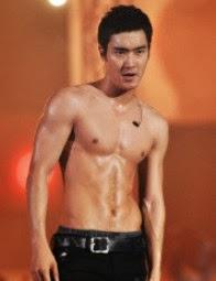 Siwon Shirtles Singing