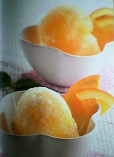 Cara Membuat Ice Cream Orange Gelato
